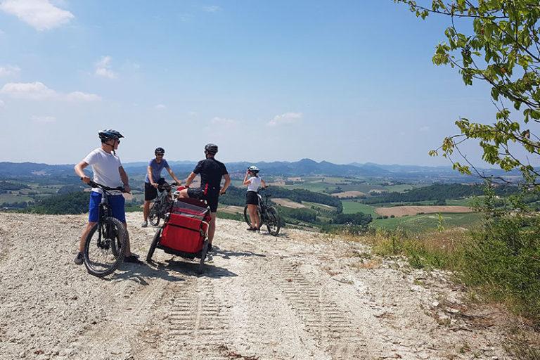 bicicletta nel monferrato